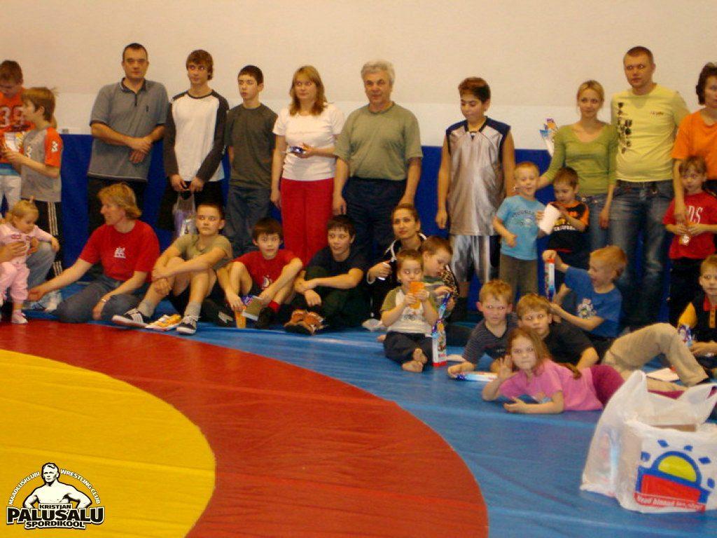 K. Palusalu Spordikooli Jõulud 2007
