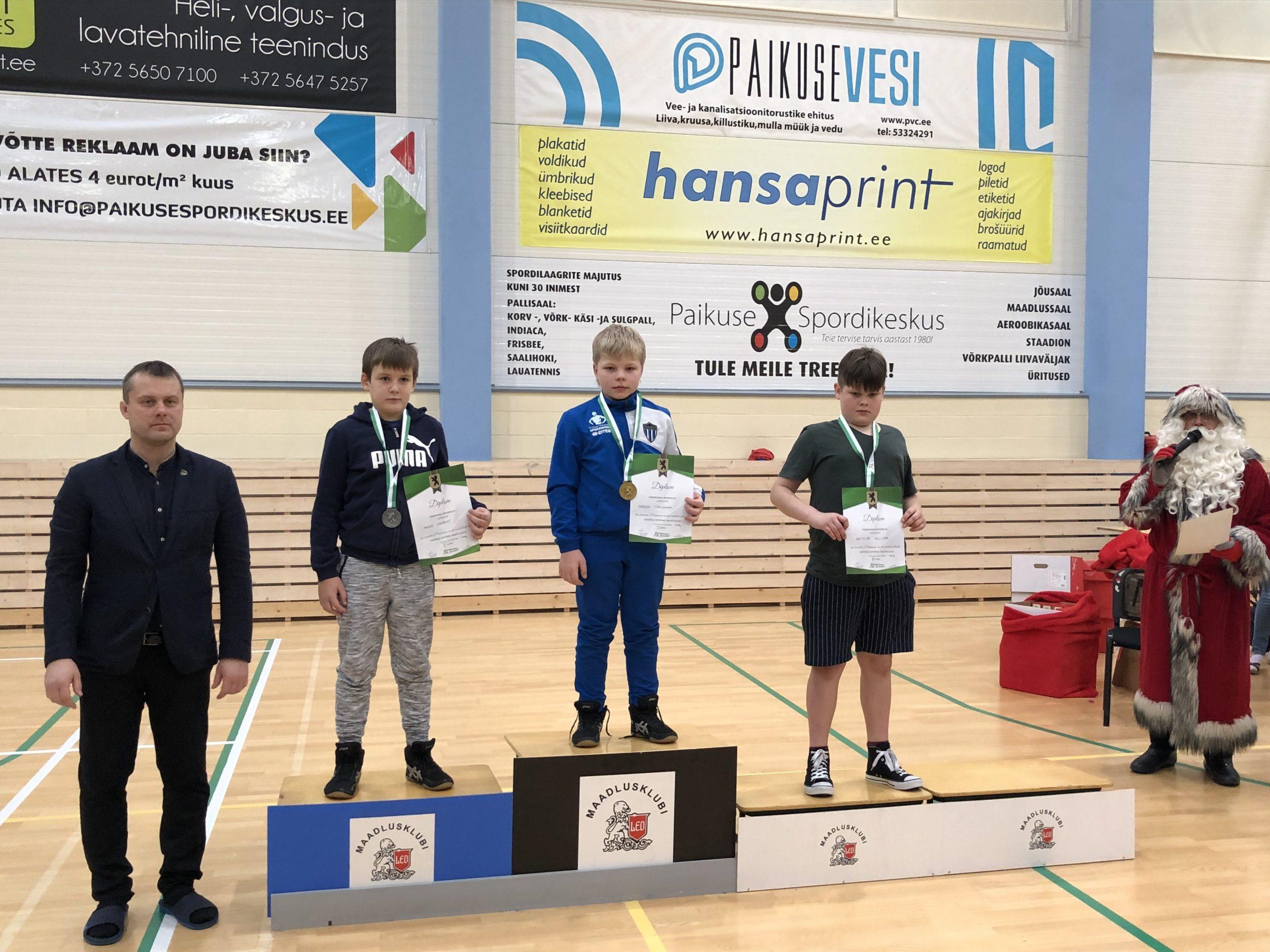 Aaron Tõnismaa Pärnu lahtised meistrivõistlused