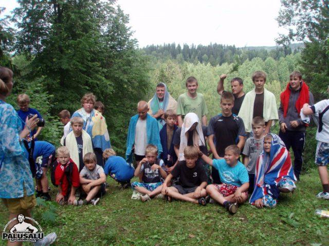 Kääriku suvelaager 2009 juulis
