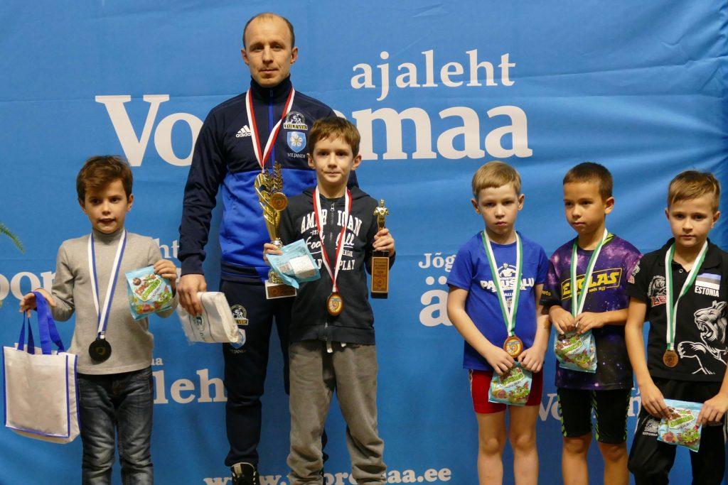 40. Vooremaa auhinnavõistlused maadluses Jõgeva Spordikeskuses Virtus