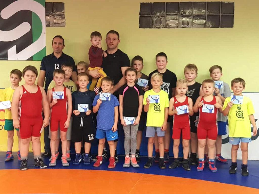 K.Palusalu Spordikooli treening London 2012 olümpiavõitja Heiki Nabiga